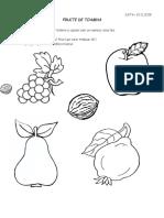 fructe fisa