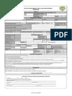Formulario de Solicitud 2019-1
