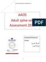 Aaos Spine 2018