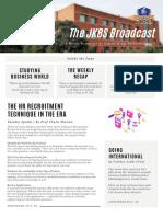 JKBS Broadcast #2