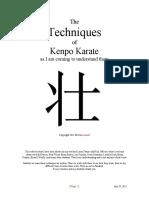 Techniques Extensions