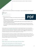 Mundo Corre Risco de Entrar Em Recessão; o Que Aconteceria Com o Brasil_ - 14-08-2019 - UOL Economia