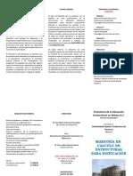 TRIPTICO Calculo de Estructuras Para Edificacion -SEPTIEMBRE2019