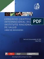 IV Congreso Cientifico Internacional Del INS. Libro de Resumenes[1]