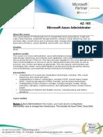 AZ103Microsoft Azure Administrator