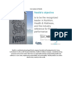 Cost Analysis of Nestle