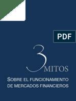 3 Mitos en Mercados Financieros