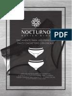 Molde Panty Cachetero Con Encaje Nocturno Design Blog Free