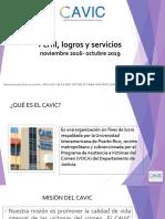 perfil logros y servicios cavic