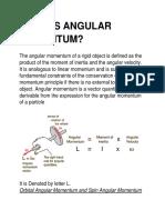 Conservation of angular momemtum