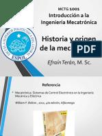 Intro Mecatrónica  - Origen e historia de la mecatrónica (1).pdf
