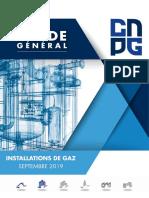Guide General du Centre National d'expertise des Professionnels de l'energie Gaz