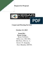 Request for Proposal- Kesar Ashish