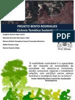 Empreendedorismo II - Apresentação - Bento Rodrigues