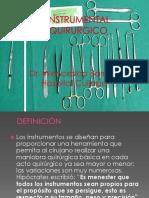 Instrumental Quirurgico DR BARRERA