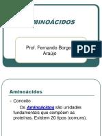 A 3 - Aminoácidos e Proteínas