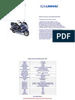 Manual de moto linhai 300