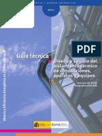 Diseño y calculos aislamiento AISLAM GT3_07 (IDAE)