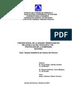 EL ROL FISCALISTA Y LA FUNCION SOCIAL DE LAS ADUANAS