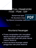 Konseptual Framework PSAK IFRS and SAP