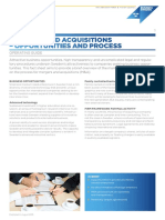 5. Mergers and Acquisitions Process Overview