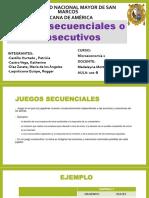 JUEGOS SECUENCIALES