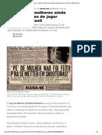 Há 40 Anos, Mulheres Ainda Eram Proibidas de Jogar Futebol No Brasil _ HuffPost Brasil