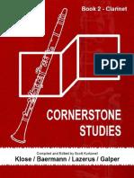 Kurtzweil - Cornerstone Studies Clarinet v2