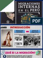 Migraciones Internas en El Perú