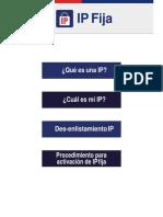Manual de IP FIJA