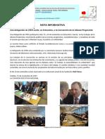 Participacion de CPDS en La Convencion de La AP de Estocolmo