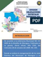 Exp División de Delegaciones Distritales 2011
