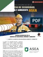 Nuevas Exigencias de La Agencia de Seguridad Energia y Ambiente Abr 29