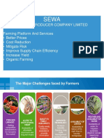 Sewa Working Plan