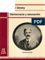 Dewey John Democracia y Educacion