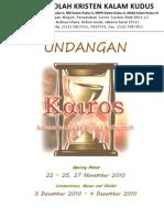 Proposal Undangan KAIROS - TK-SD