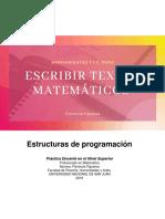 Herramientas TIC para escribir textos matemáticos