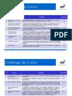 Catalogo Cursos 2012