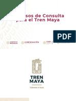 Consulta ciudadana e indígena Tren Maya