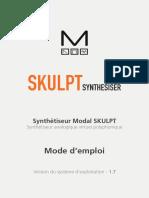 Modal SkulptSynth Manual
