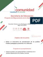 El Modelo Pedagógico