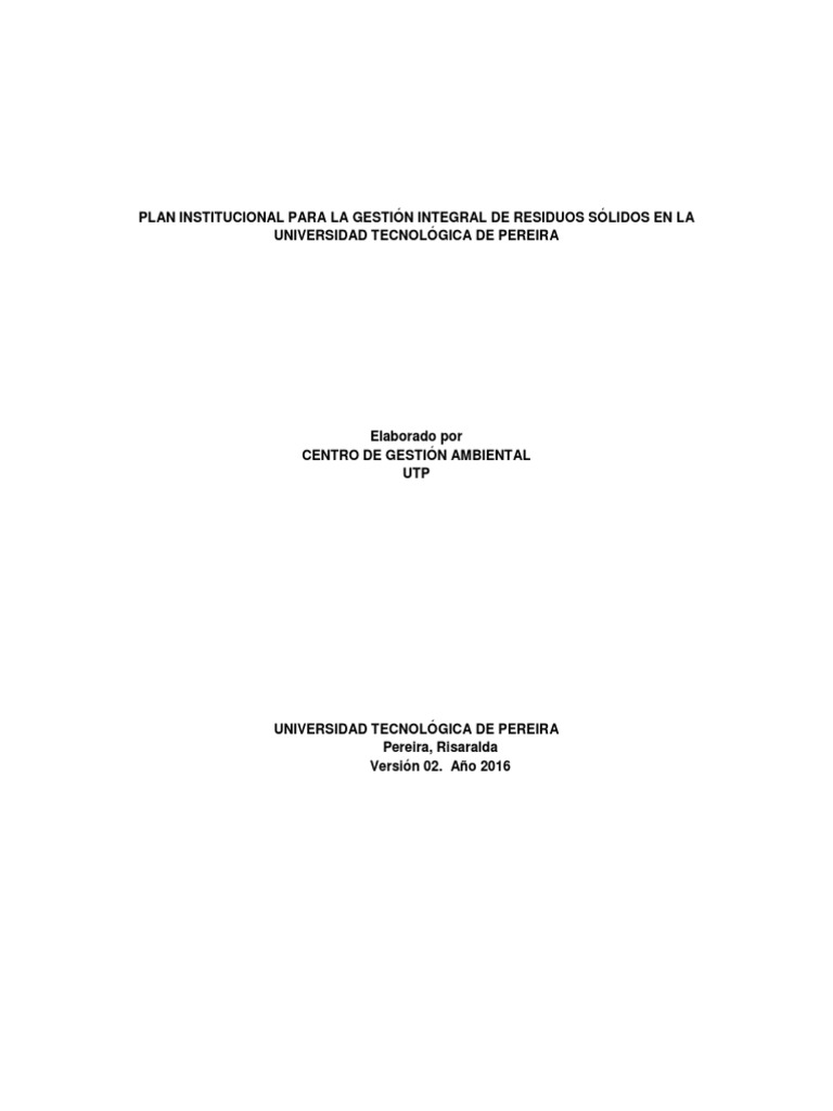 gestion integral de residuos solidos tchobanoglous pdf gratis