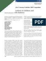 ISPAD Guidelines 2009 - DKA