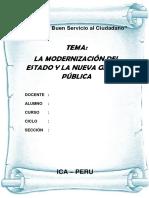 Trabajo Monografico de La Gestion Moderna Publica