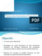 Theorie des Institutions fin