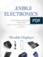 Flexible Electronics Ppt