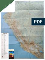 2017 Mapa de Carreteras Del Perú, Roadmap, Landkarte