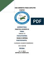 Práctica Docente III Tarea Carolina Damián Rodríguez