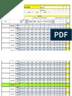 le lymphedema progress spreadsheet