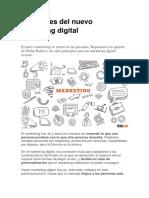 Las Claves Del Nuevo Marketing Digital